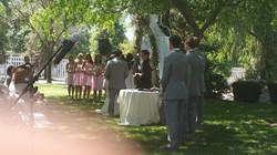 Albert Officiating Wedding