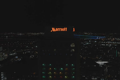 Montreal Marriott Chateau Champlain-nuit