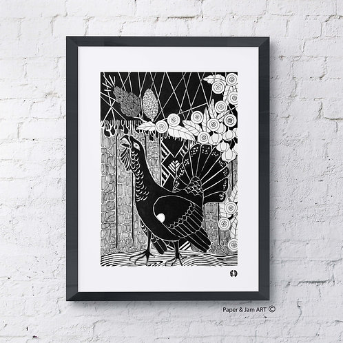 Horse Of The Forrest (Limited Edition Print)