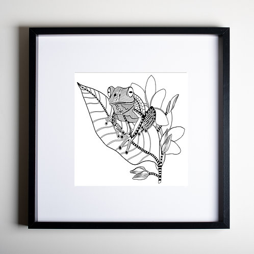 Frog and Frangipani