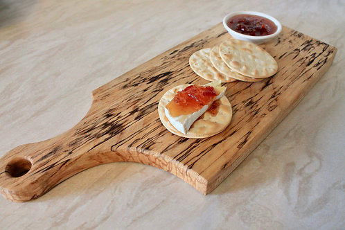 Paddle Serving Platter (Spalted Birch)