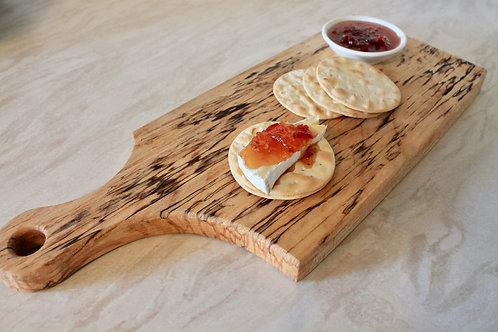 Paddle Serving Platter (Spalted Birch)
