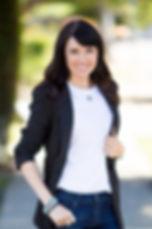 Paige,Full, edited, black blazer, write