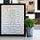 Thumbnail: Custom Engraved Wooden Line of Authority + Frame