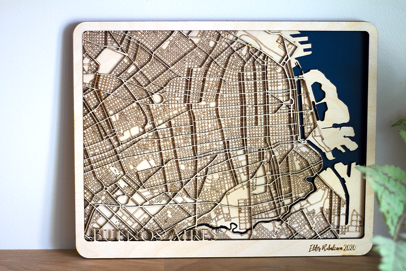 Custom 3D Street Map