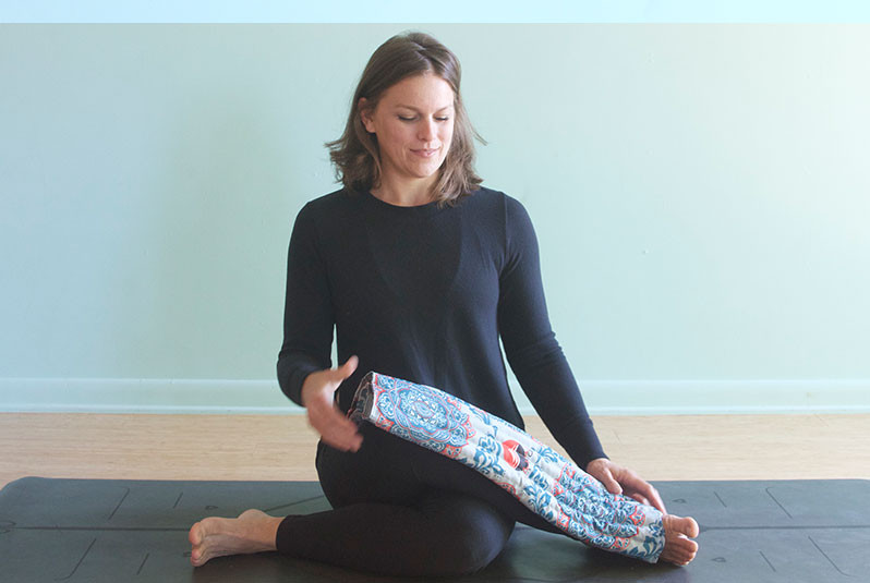 Weighted Lap Blanket for Savasana