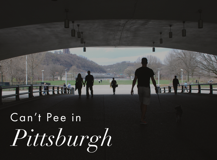 Can't Pee in Pittsburgh