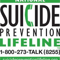 Suicide Hotline  800-273-TALK
