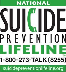 800-273-TALK    Suicide Hotline