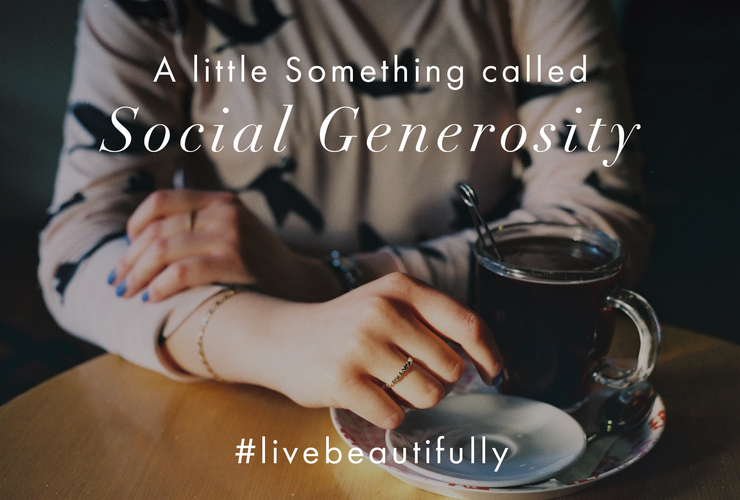 A Little Something called Social Generosity