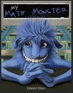 My Math Monster Children's book - Illustration by Brittany Mash Illustration and Design