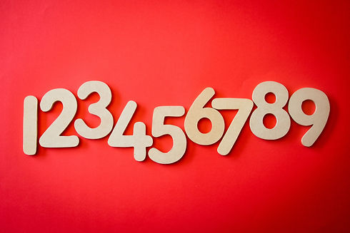 red-background-with-123456789-text-overl