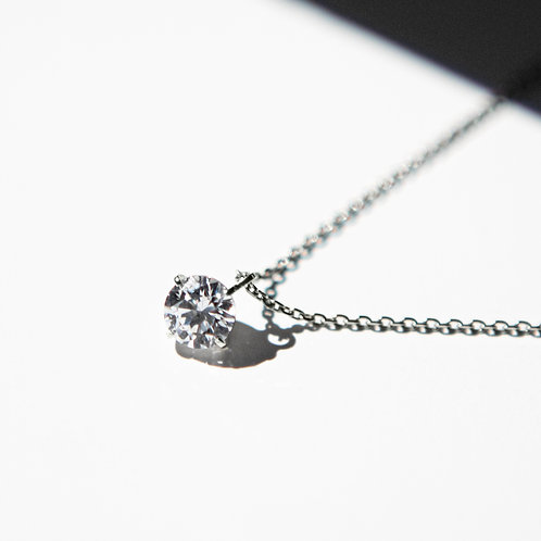 NECKLACE Pt900 0.40ct /LAB GROWN DIAMOND