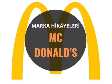 McDonald's / Marka Hikâyeleri