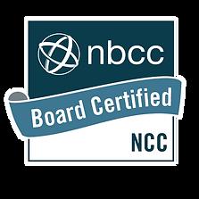 NBCC Board Certification Badge