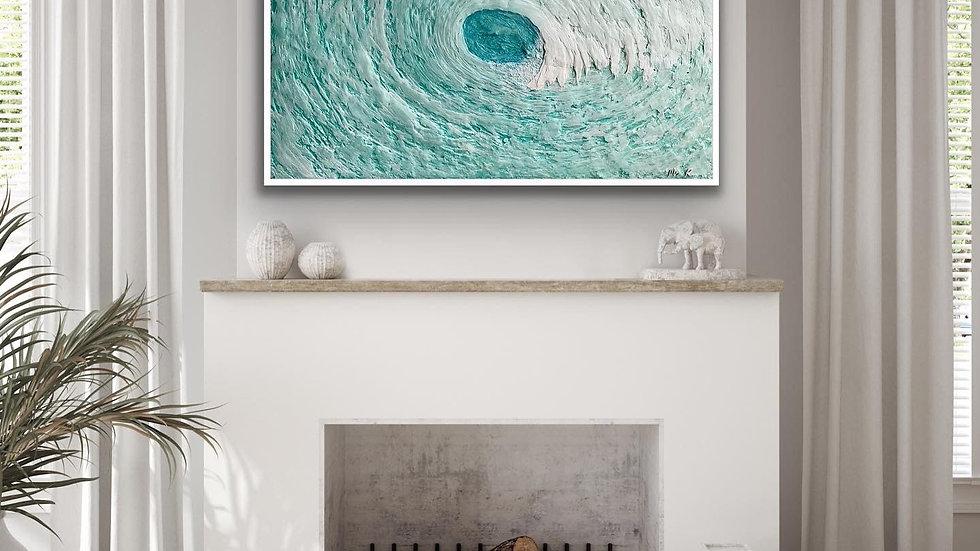 """Canvas Print """"Breaker No. 4"""""""