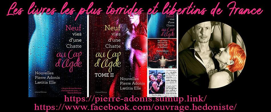 livre libertin libertinage Pierre Adonis