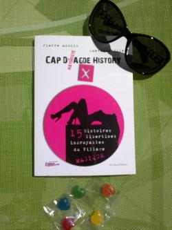 Cap d'Agde History X ? Des nouvelles littéraires très chaudes et libertines inspirées d'histoires vé
