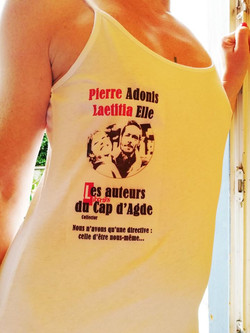 Qui ne connait pas Pierre Adonis ? L'écrivain 100% libertin du Cap d'Agde naturiste !