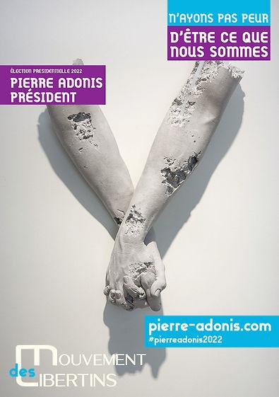 Pierre adonis site internet officiel