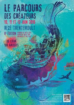 Affiche du Parcours des créateurs Tr