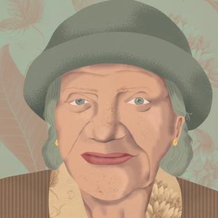 Portrait for private commission, 2021