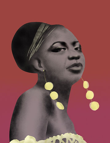 nina simone laura angelucci illustration