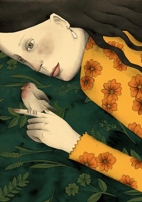 Laura angelucci illustrazione ragazza