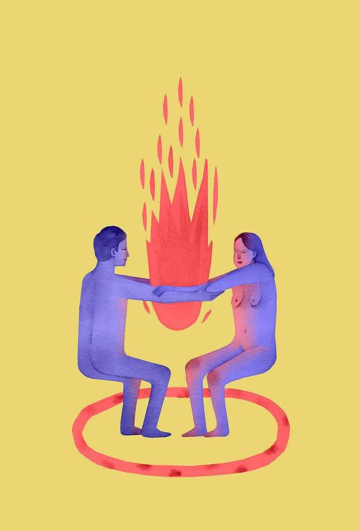 illustrazione laura angelucci coppia amore