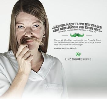 Lindenhofgruppe Kampagne Movember