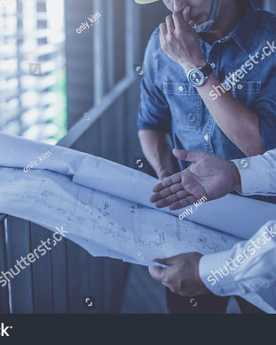 stock-photo-architect-and-engineer-inspe