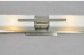 JH40709 Flush Mount Ceiling Light - Satin Nickel