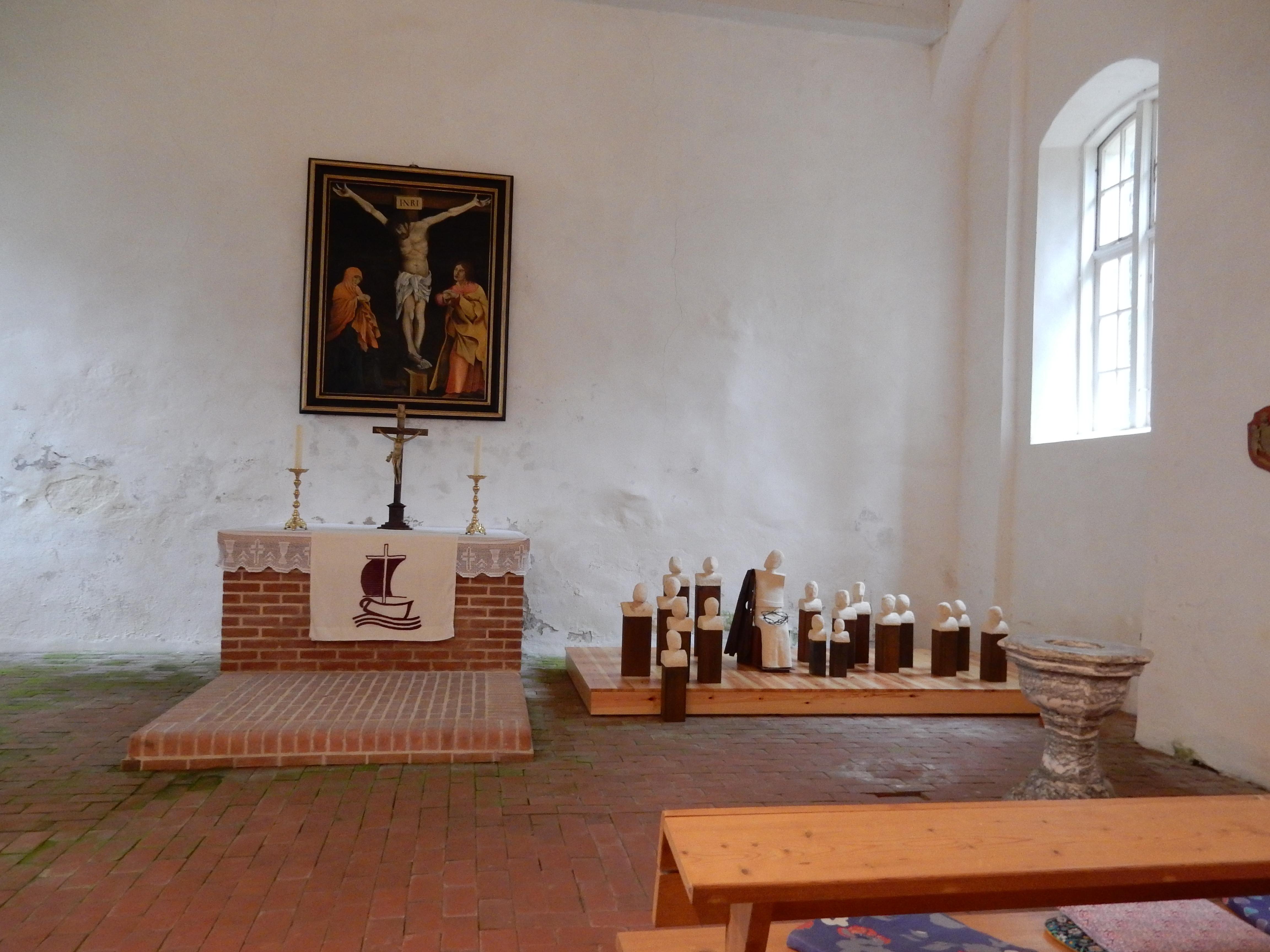 Mit Maria in der Kirche Leplow