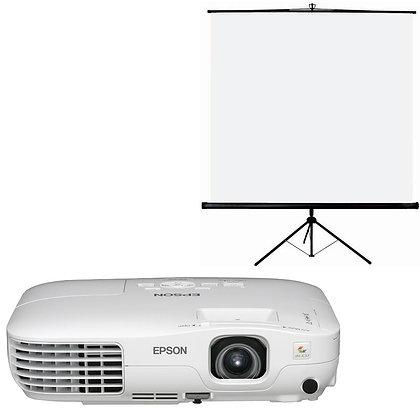 Pack Vidéo - Projecteur / Ecran 2x2m / PC