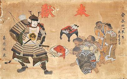 800px-Samurai_and_Ainu_Fuzoku_Ema.jpg