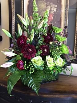 Rhonda Rose Floral European Window Box Funeral