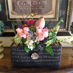 Gift Basket Floral/Wine by Rhonda Rose Floral