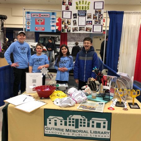 Optic Nerds at Hanover Builder's Home and Garden Show