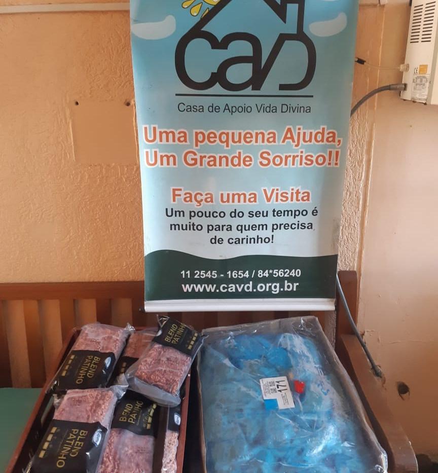 Doação CACCC - Projeto Alegria de Viver