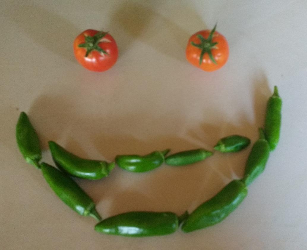 jalapeno tomato smile