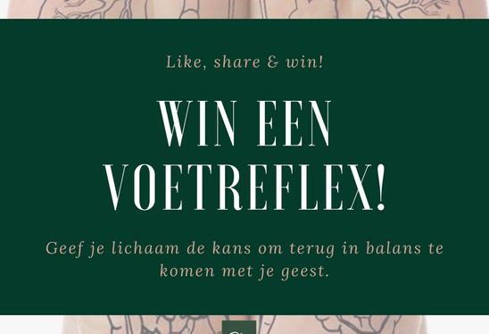 Win een gratis voetreflex!