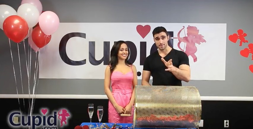 Web simulcast for Cupid.com