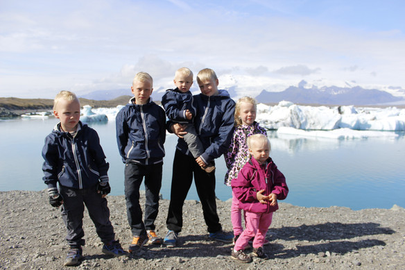 Hringferð með yngstudeildina