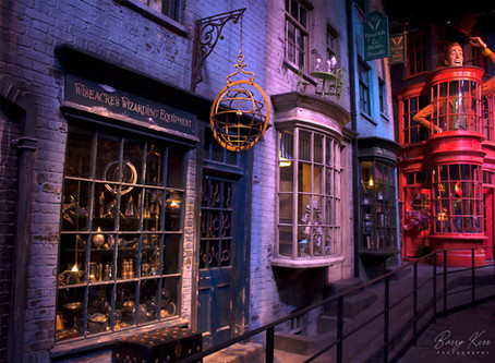 A Magical Evening at Harry Potter World