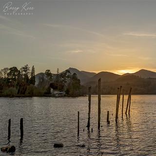 Derwentwater At Sunset
