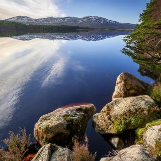 Boat Garten Loch, The Highlands
