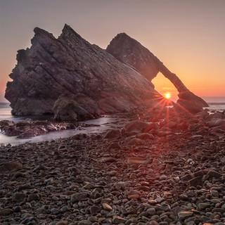 Bow Fiddle Rock Sunrise