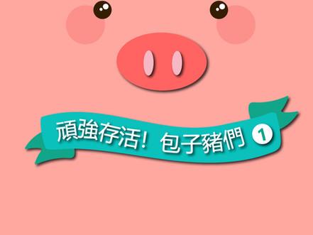 [🌸新書上架]《豬1》頑強存活,包子豬們!