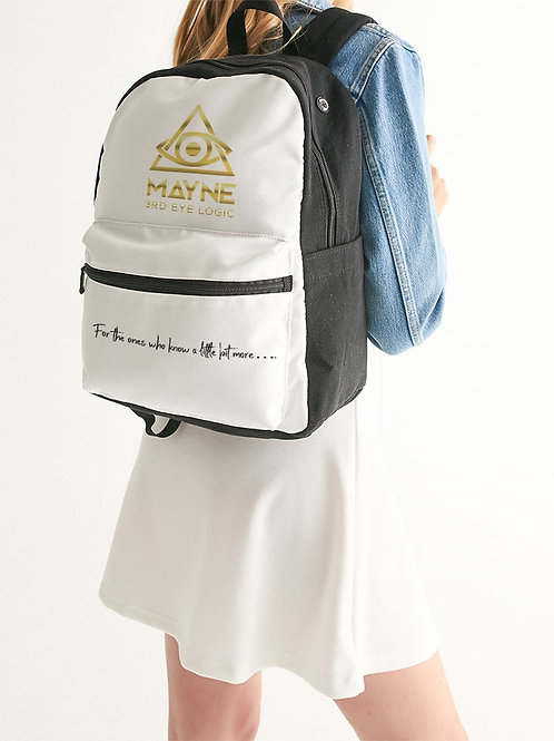 Small Canvas Backpack