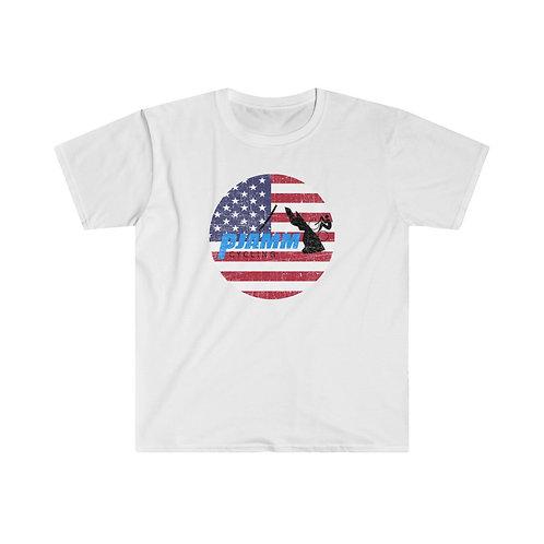 USA PJAMM Circle Logo Tee